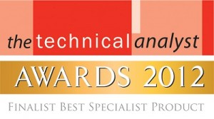 Logo for Technical Analyst Awards Finalist Best Special Product